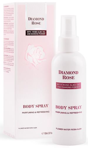 PERFUMOWANY SPRAY DO CIAŁA DIAMOND ROSE 150ML